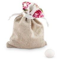 Tea Rose Mini Drawstring Pouch - Set of 12