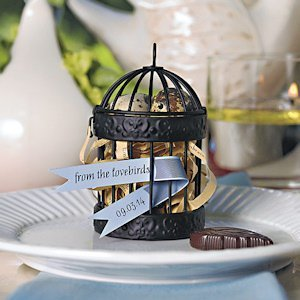 Miniature Decorative Round Birdcages - Set of 4 image