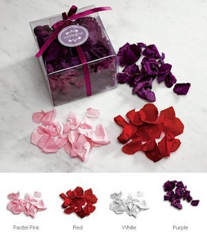 Preserved Natural Rose Petals - 4 Colors image