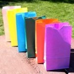 Standing Paper Goodie Bags - 13 Colors