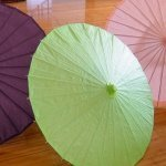 Pretty Paper Parasol with Bamboo Boning - 18 Colors