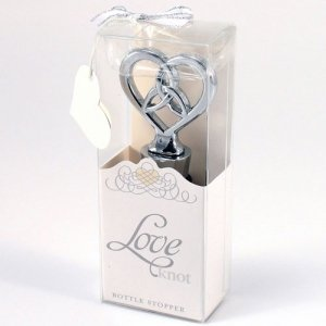 Celtic Love Knot Bottle Stopper Wedding Favor image