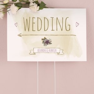 Natural Charm Directional Sign image