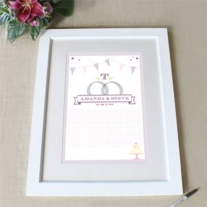 Homespun Charm Custom Framed Signing Certificate (3 Colors) image