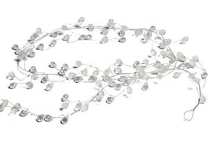 Crystal & Silver Wire Decorative Garland image