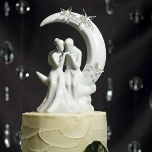 Written in the Stars Cake Topper image
