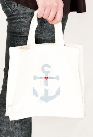 Anchor Personalized Tote Bags (2 Sizes) image