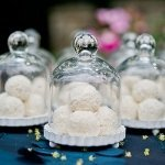 Miniature Glass Bell Jar with Base (Set of 4)