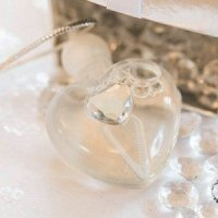 Sparkling Heart Wedding Bubbles (Set of 10)