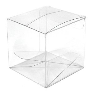 Transparent Acetate Clear Favor Boxes (Set of 10) image