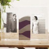 'Clearly Love Unity Sand Picture Frames Box