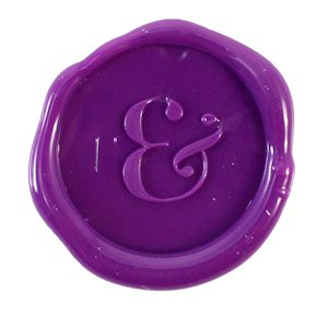 Ampersand Flexible Wax Seals (Set of 5) - Multiple Colors image