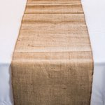 Burlap Table Runner - 2 Sizes