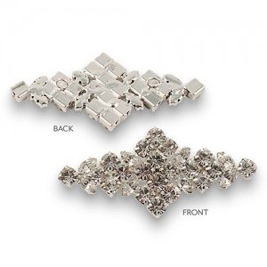 Diamond Shaped Crystal Accent image