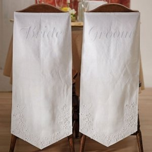 Linen Chair Banners - 2 Designs image