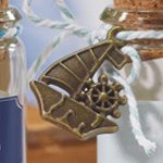 Sail Boat Charm (Set of 12)