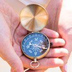 Adventurers Compass Travel Themed Favors (Set of 6)