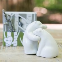 Bear Hug Gift Boxed Mini Salt and Pepper Shakers