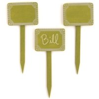 Miniature Wooden Decorative Stakes (Set of 12)