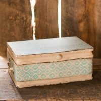 Vintage Inspired Wood Case (Wishing Well or Card Holder)