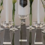 Crystal Unity Candle Holders (2 Sizes)
