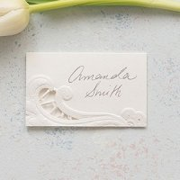 Lace Opulence Laser Embossed Place Cards (Set of 20)