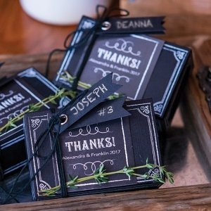 Chalkboard Chic Favor Box Kit (Set of 10) image