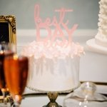 Best Day Ever Acrylic Cake Topper (3 Colors)