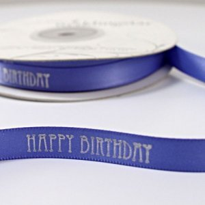 Happy Birthday Ribbon image