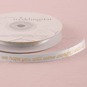 Wanderlust Wedding Ribbon image