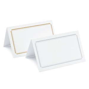 Plain & Double Border Place Cards (3 Designs) image