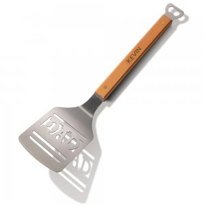 Number One Dad Personalized BBQ Grill Spatula image