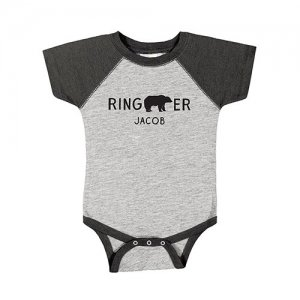 Personalized Ring Bearer Baby One Piece image