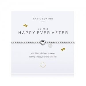 Happy Ever After Silver Bracelet with Crystal Heart Charm image
