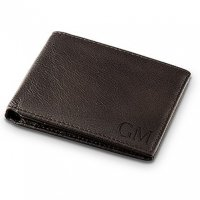 Genuine Brown Leather Wallet for Men