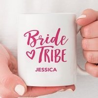 Personalized Bride Tribe Coffee Mug (Color Options)