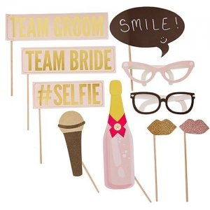 Wedding Team Photo Booth Props image