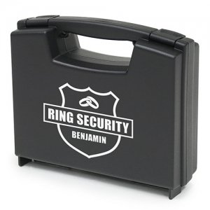 Personalized Ring Security Ring Briefcase image
