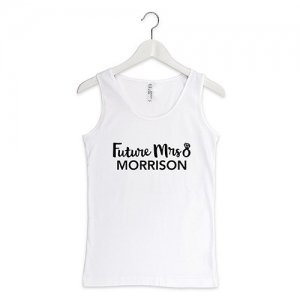 Future Mrs Personalized Bride Tank Top (Color Options) image