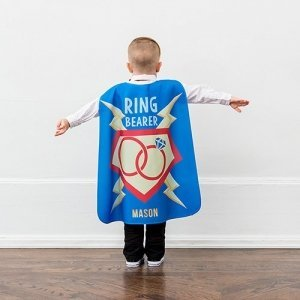 Personalized Ring Bearer Super Cape image