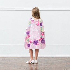 Personalized Flower Girl Super Cape image