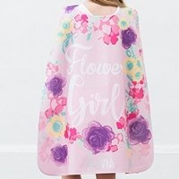 Personalized Flower Girl Super Cape