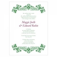 Luck of the Irish Stationery Sample (5 Colors)
