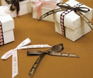 Personalized Ribbon For Bows 4 Sizes 31 Colors Image