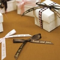 Personalized Ribbon For Bows (4 Sizes - 31 Colors)