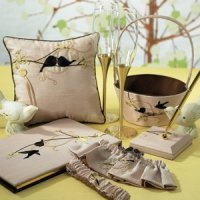 Love Birds Wedding Accessories