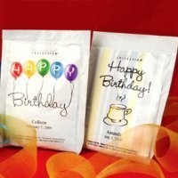 Personalized Birthday Cappuccino (50 Designs)