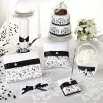 Black & White Vines Wedding Collection