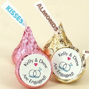 Hershey Kiss Chocolate Bridal Shower Favors image