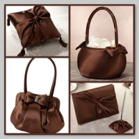Collection - Brown Satin